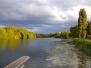 Les bords de La Sarthe